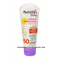Aveeno Natural Protection Солнцезащитный детский лосьон SPF 50 85 г.