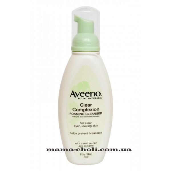 Aveeno Clear Complexion Очищающая пенка
