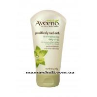 Aveeno Positively Radiant Осветляющий скраб для ежедневного ухода