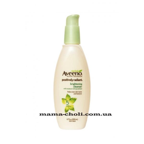 Aveeno Positively Radiant Осветляющее очищающее средство 200 мл.