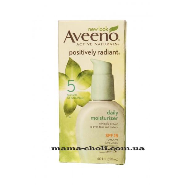 Aveeno Positively Radiant Дневной увлажняющий крем SPF 15