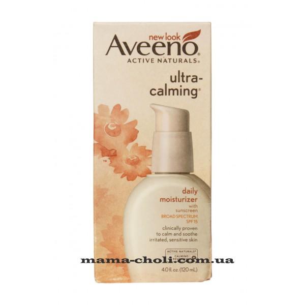 Aveeno Ultra-Calming Дневной увлажняющий крем SPF 15 120 мл.