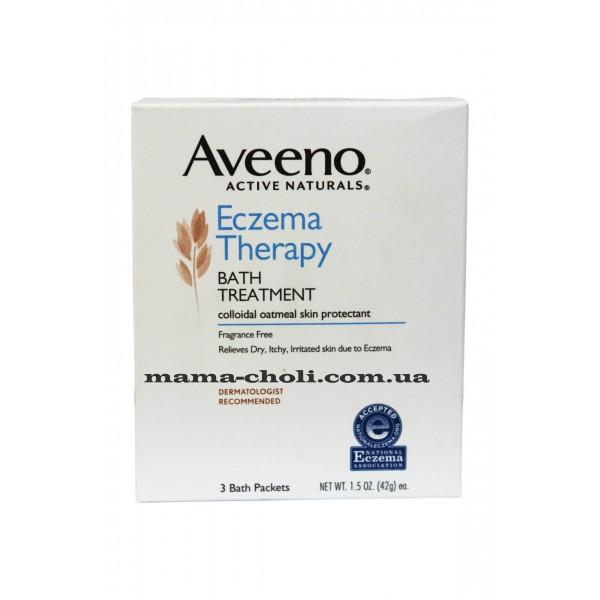 Aveeno Eczema Therapy Лечебная добавка для ванной