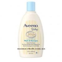 Aveeno Baby Детское мыло и шампунь 2 в 1