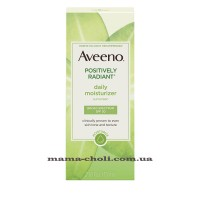 Aveeno Positively Radiant Дневной увлажняющий крем SPF 30