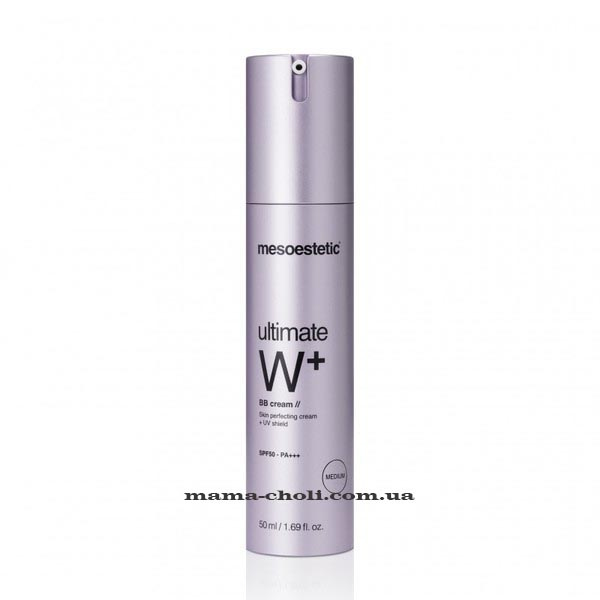 Mesoestetic Ultimate W+ ВВ-крем SPF 50 50 мл.