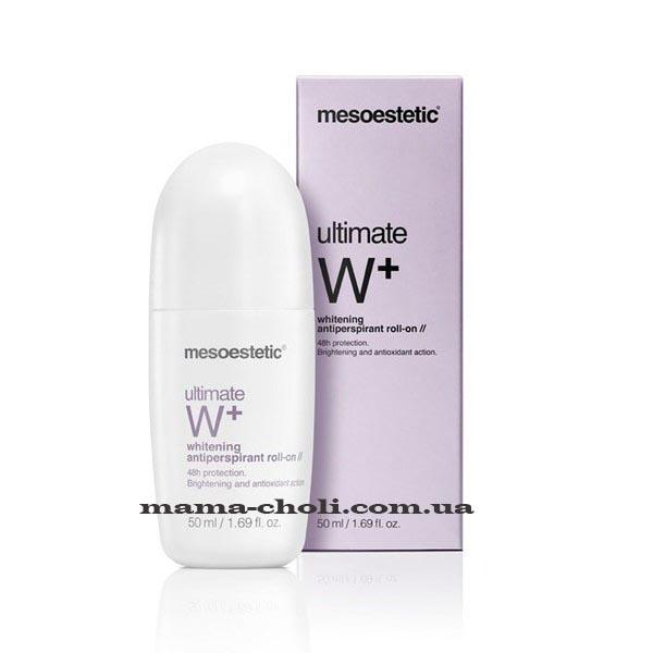 Mesoestetic Ultimate W+ Осветляющий шариковый дезодорант 50 мл.