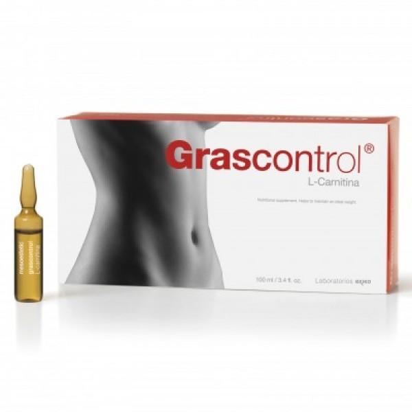 Mesoestetic Grascontrol Пищевая добавка с L-карнитином 20 ампул